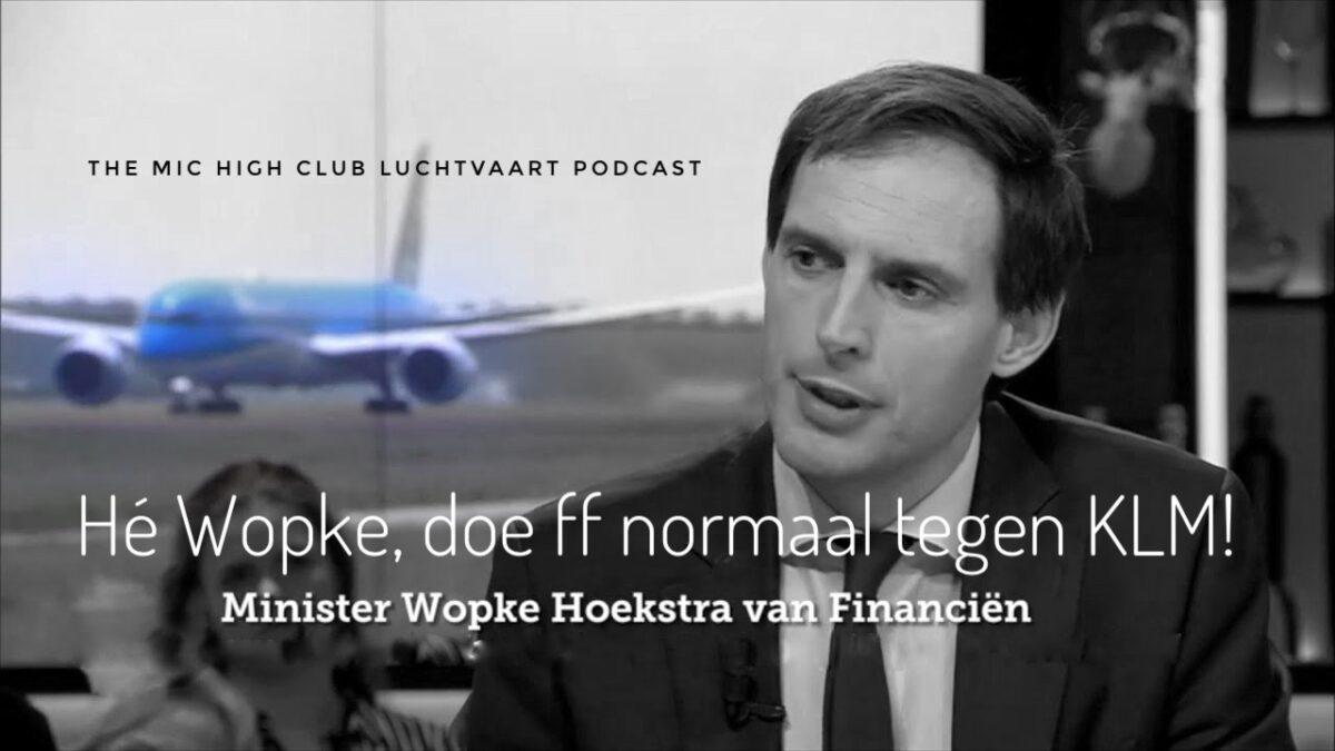 Minister Wopke Hoekstra
