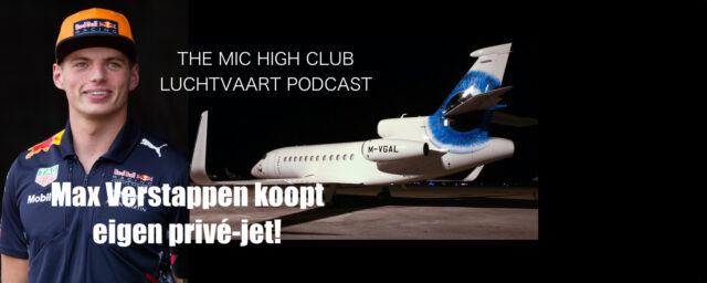 Max Verstappen koopt eigen privé-jet