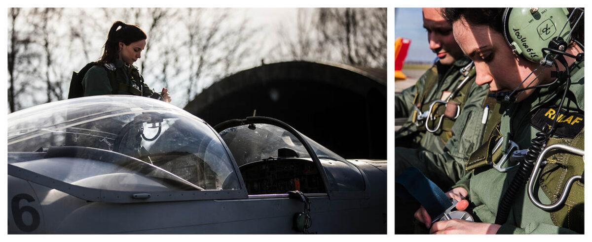 Charlotte is de eerste Nederlandse vrouwelijke vlieger op de MQ-9 Reaper